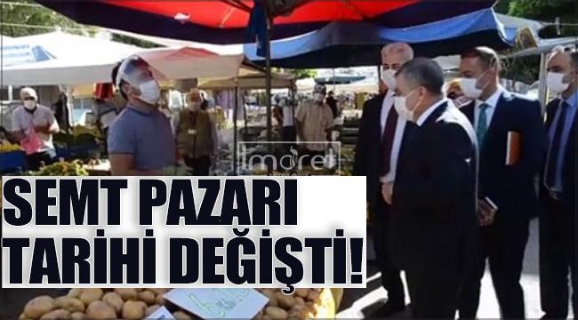 Karaman'da semt pazarı ile ilgili flaş karar !
