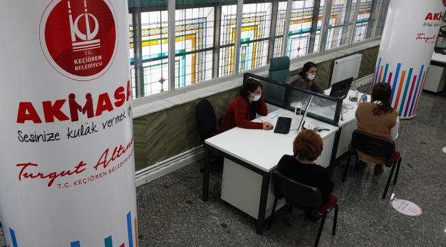 Keçiören Belediyesi 'Ak Masa' çözümün merkezi oldu