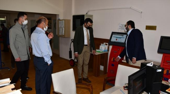 SPARK yetkilileri, MEÜ'deki yatırımları inceledi