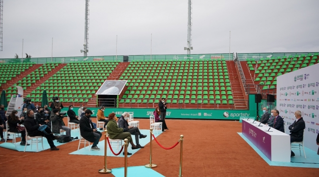 TEB BNP Paribas Tennis Championship'in basın toplantısı gerçekleşti