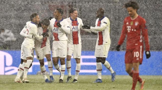 UEFA Şampiyonlar Ligi: Bayern Münih: 2 - PSG: 3