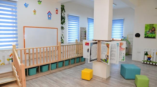 Altındağ'daki Bebek Kütüphanesi açılışa hazır