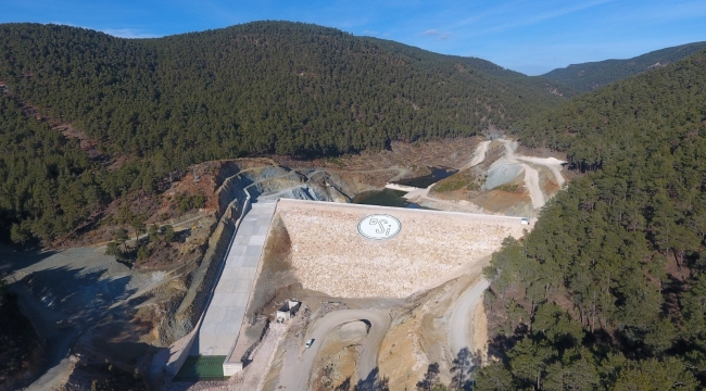 Kütahya Tavşanlı Kışlademirli Barajı'nda 5 bin 200 dekar arazi sulanacak