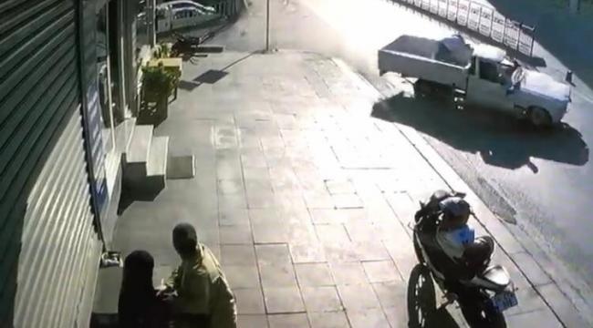 Pendik'te bayram günü 4 kişilik aileye dehşeti yaşatan kaza kamerada