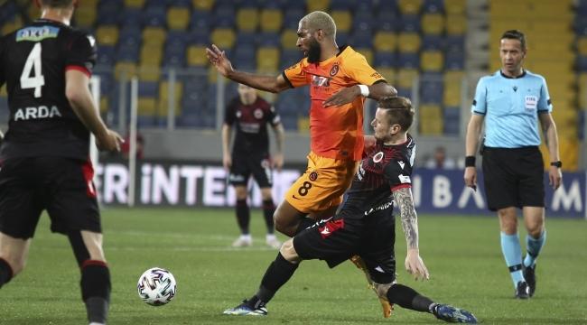 Süper Lig: Gençlerbirliği: 0 - Galatasaray: 0
