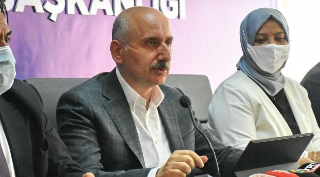 """Bakan Karaismailoğlu: """"Türkiye dünyanın en büyük 10 ekonomisinden biri olacak"""""""