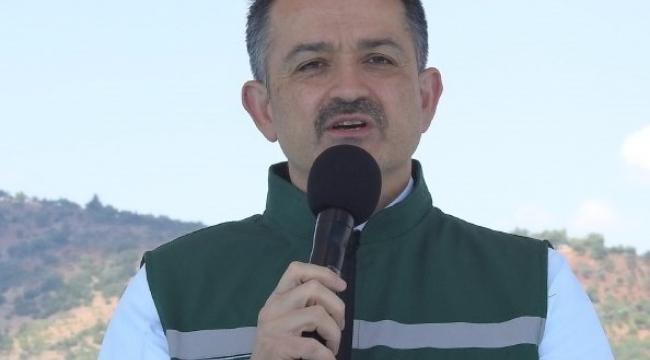 Bakan Pakdemirli, Kilis'te sektör temsilcileriyle bir araya geldi