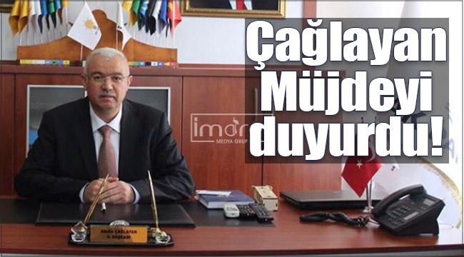 Başkan Çağlayan'dan müjde!