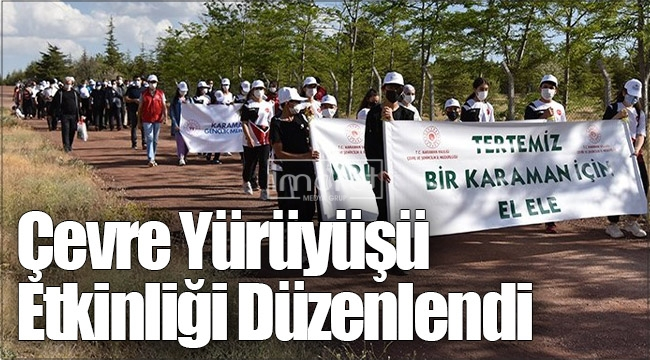 Çevre Yürüyüşü Etkinliği Düzenlendi