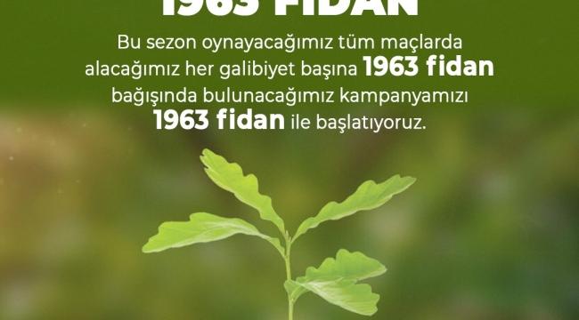 Bursaspor'dan örnek proje