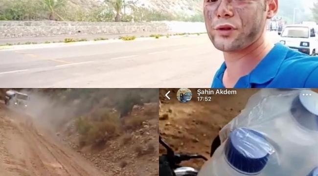 Ekiplere su taşırken can veren Şahin'in son paylaşımı duygulandırdı