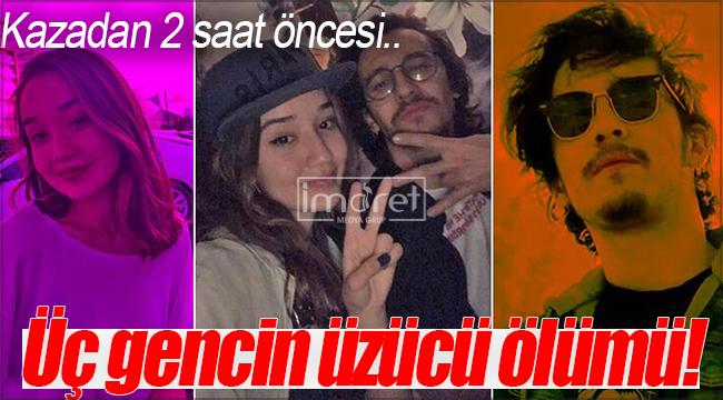 Konya'daki trafik kazasında biri Karamanlı üç gencin üzücü ölümü!