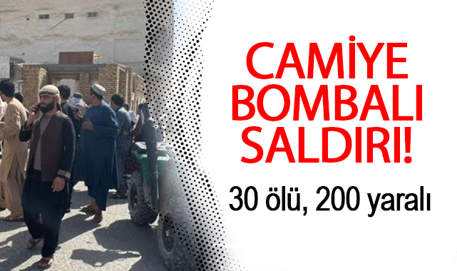 Camiye bombalı saldırı: 30 ölü, 200 yaralı