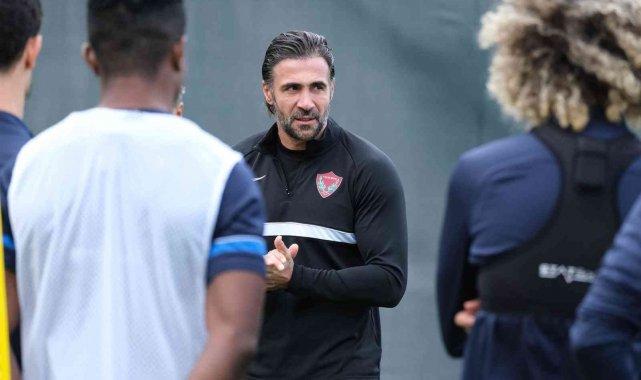 Hatayspor, Fatih Karagümrük maçının hazırlıklarına başladı