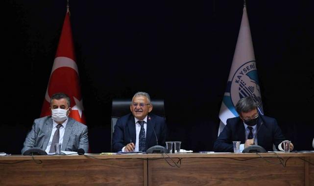 Kayseri Büyükşehir Belediyesi bütçesini 1 milyar 800 milyon TL'ye çıkarıyor