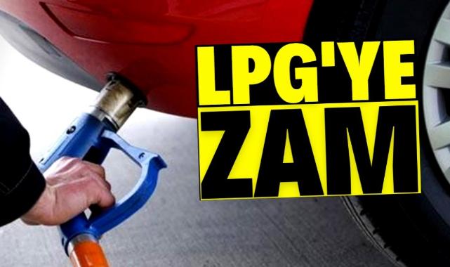 LPG'ye bir zam daha geldi
