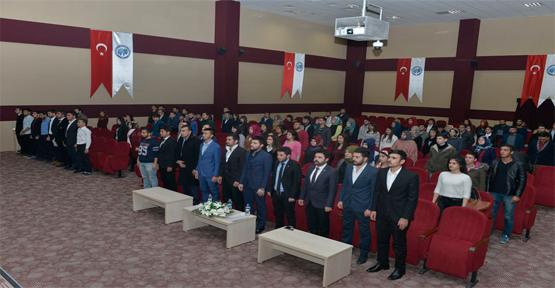 KMÜ'DE 'ÇANAKKALE ZAFERİ VE İSTİKLAL MARŞI' ANMA PROGRAMI