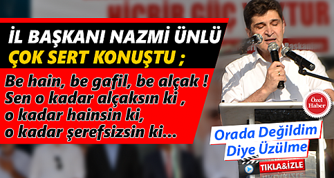 Nazmi ÜNLÜ Meydanda Sert Konuştu ! | İMARET HABER