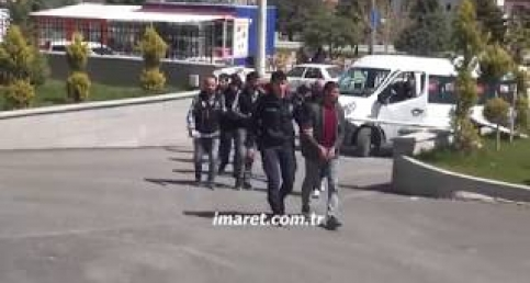 Karaman'da Bonzai operasyonu 5 gözaltı