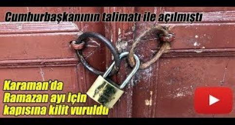 Karaman'da Millet Kıraathanesi kapatıldı