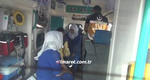 Karaman'da fabrika servisi yoldan çıktı 16 kadın işçi yaralandı