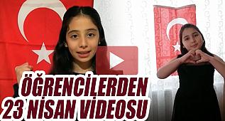 Alparslan Ortaokulu Öğrencilerinden 23 Nisan Videosu